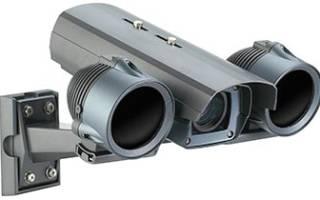 Камера наружного видеонаблюдения с ночным режимом
