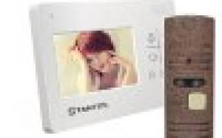 Видеодомофон для частного дома с видеокамерой