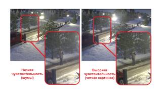 Камера видеонаблюдения с ночной съемкой