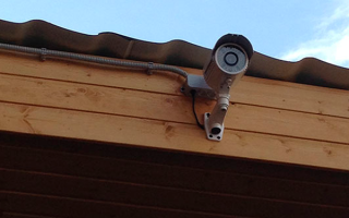 Как подключить камеру видеонаблюдения на даче?
