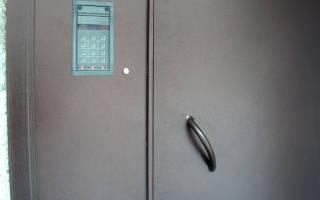 Домофон код открытия двери