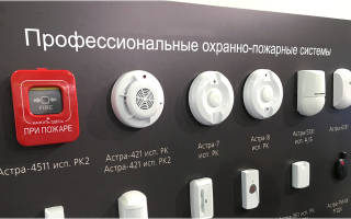 Из чего состоит пожарная сигнализация?