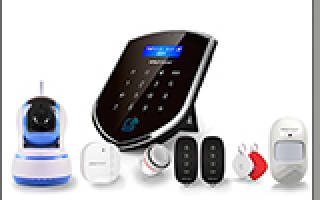 Охранная сигнализация для дачи GSM с камерой