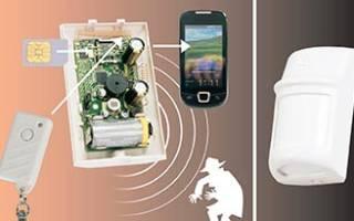Мобильная сигнализация с датчиком движения