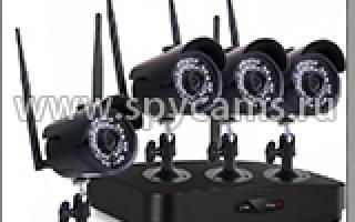 Беспроводные камеры видеонаблюдения для квартиры с записью