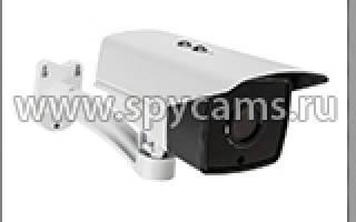 Видеокамера для видеонаблюдения беспроводная WiFi уличная