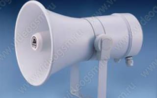 Установка звуковой сигнализации