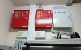 Модернизация пожарной сигнализации