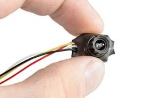 Микрокамеры видеонаблюдения с записью на карту памяти