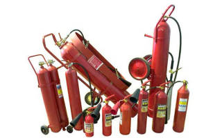 Где применяются углекислотные огнетушители?