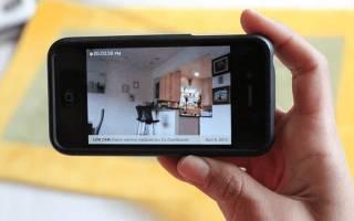 Как подключиться к видеокамере телефона?