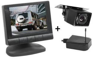Камера заднего вида для видеонаблюдения дома