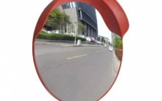 Зеркало панорамное сферическое уличное