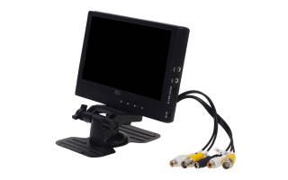 Подключение видеокамеры к монитору напрямую