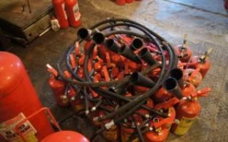 Как перезарядить огнетушитель углекислотный?