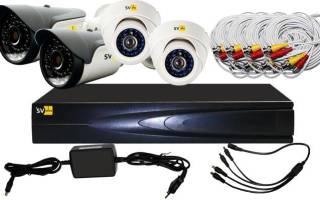 Системы охраны и видеонаблюдения для частного дома