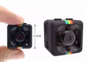 Видеокамера регистратор с датчиком движения