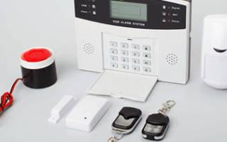 Система охранной сигнализации для дачи